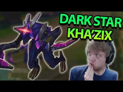 BEST KHA'ZIX SKIN EVER! NEW DARK STAR KHA'ZIX JUNGLE GAMEPLAY - PBE League of Legends Commentary