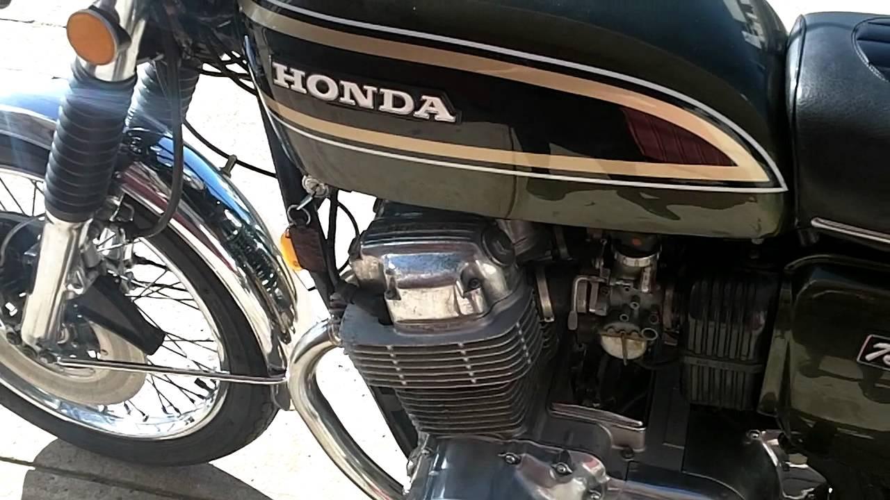 Honda Cb750 K3 Cb750 2216368 1972 Green