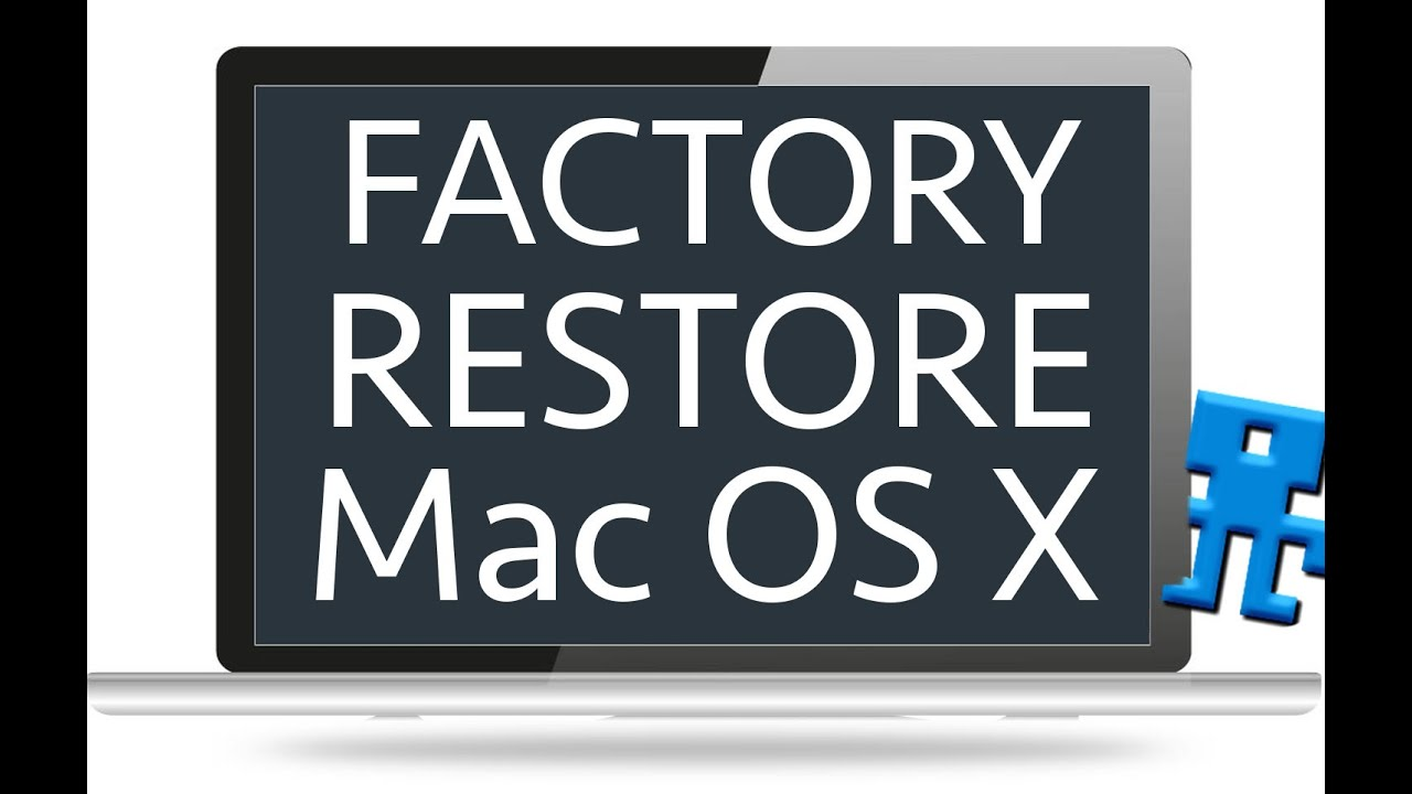 How to set macbook pro back to factory settings without disk