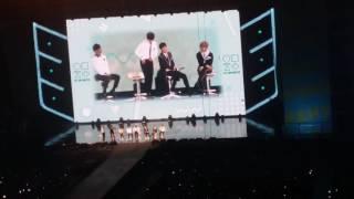 Video 161113 BTS 3rd Muster   Jungkook singing & BTS talk time download MP3, 3GP, MP4, WEBM, AVI, FLV Mei 2018