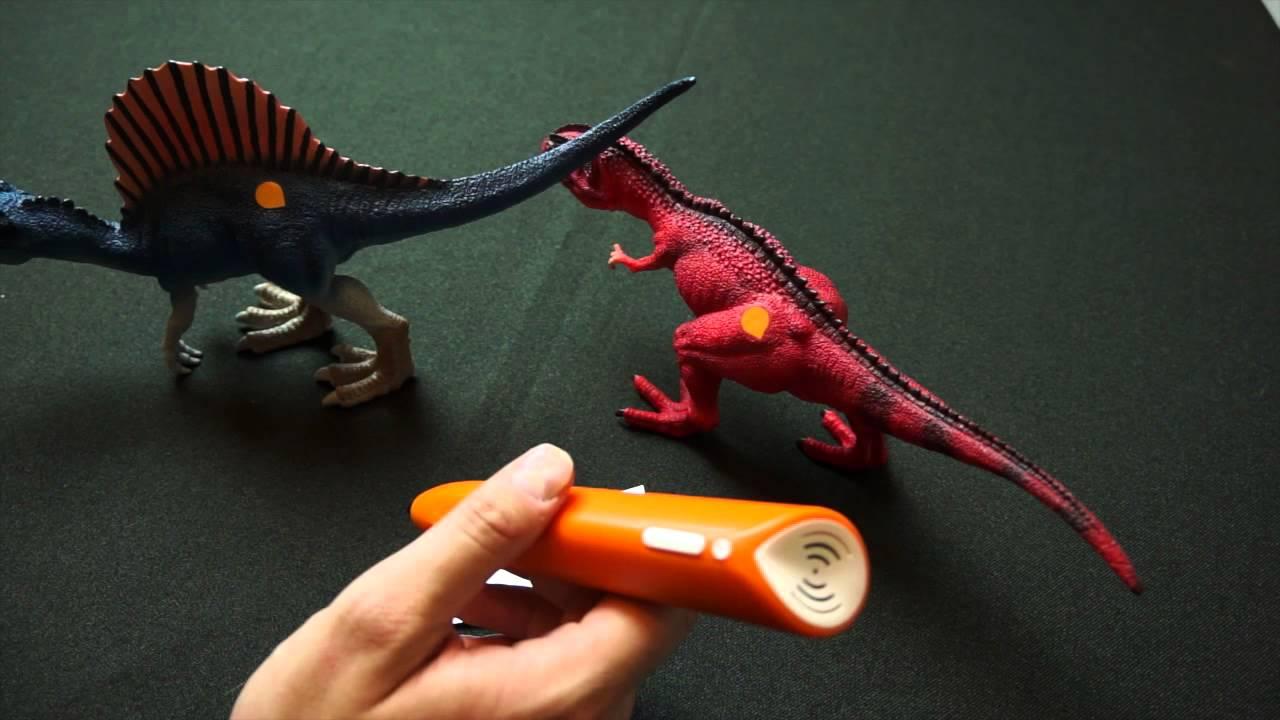 Tiptoi Spielfiguren Dinosaurier Gigantosaurus Und Spinosaurus Groß Brettspielblognet