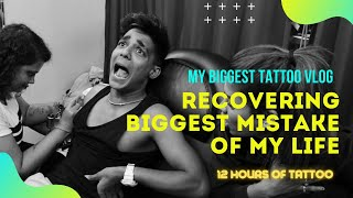 RECOVERING BIGGEST MISTAKE OF MY LIFE ! Tattoo Vlog I Rohit Zinjurke & Nita Shilimkar I reactionboi