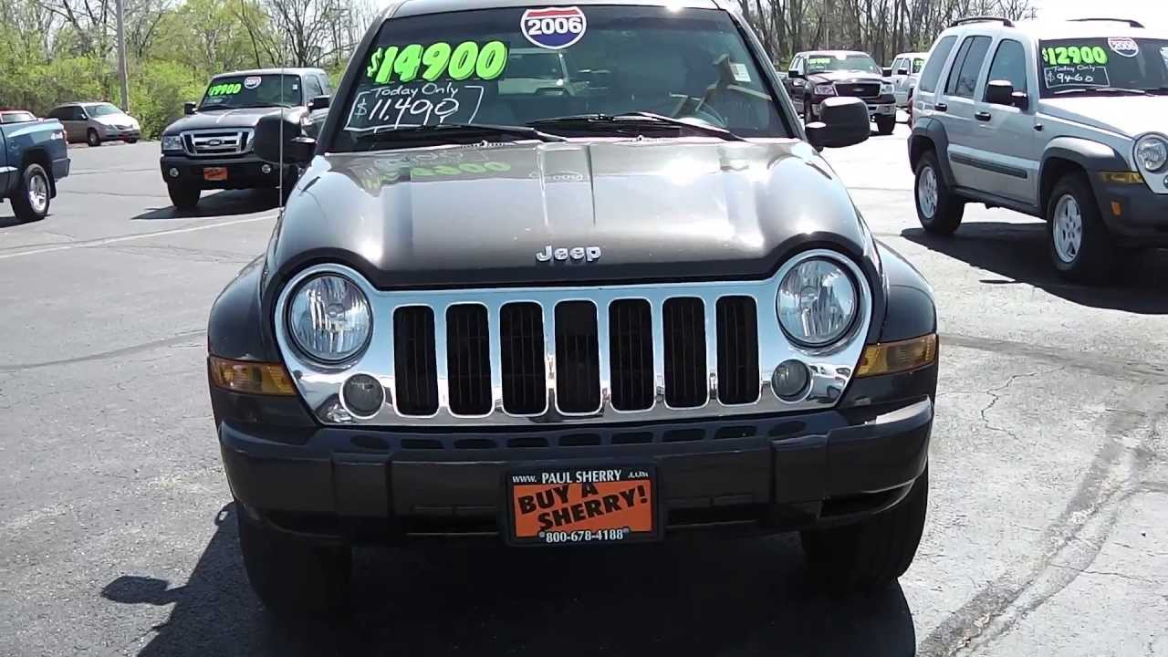 2006 Jeep Liberty Limited Edition SUV Green diesel for sale Dayton Troy  Piqua Sidney Ohio - CP12731T