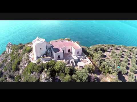 Stupenda Milazzo vista dall'alto - Riprese Aeree (Drone-Air)