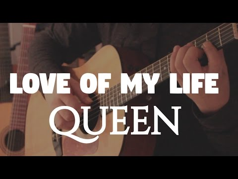 "Queen ""Love of my Life"" on Fingerstyle by Fabio Lima"