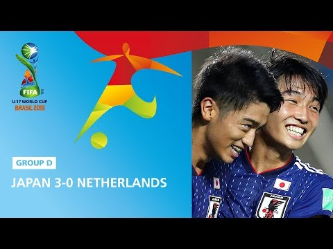 Japan V Netherlands Highlights - FIFA U17 World Cup 2019 ™