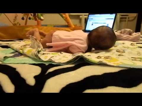 Развитие ребенка в две недели