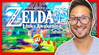 J'ai joué à ZELDA Link's Awakening sur Nintendo Switch : attention chef d'oeuvre ❤️ GAMEPLAY FR