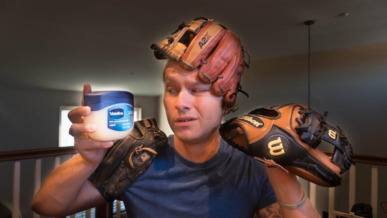how to break in a new baseball glove