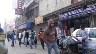 Cycle rickshaw ride from Chuna Mandi Pahar Ganj New Delhi to New Delhi railway Station