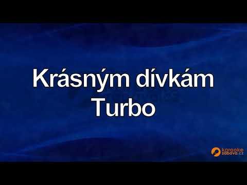 FullHD karaoke Krásným dívkám - Turbo - ukázka