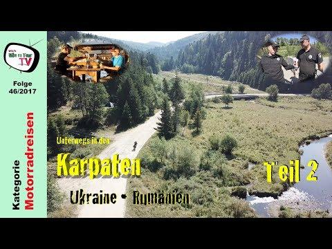 Karpaten mit dem Motorrad, Teil 2 | Ukraine