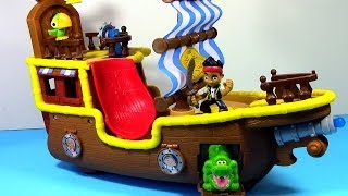 Jake And The Neverland Pirates Musical Pirate Ship Bucky Disney Junior Jake Pirate