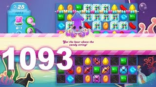 Candy Crush Soda Saga Level 1093 (3 stars, No boosters)