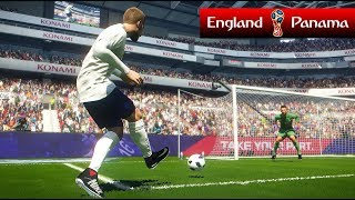 England vs Panama - FIFA World Cup - PES 2018