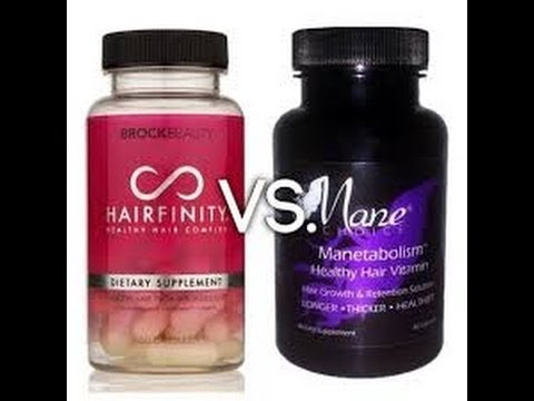 hairfinity vs the mane choice vitamins review youtube
