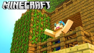 MY OWN GORGEOUS TREE HOUSE! | Minecraft Build Battle