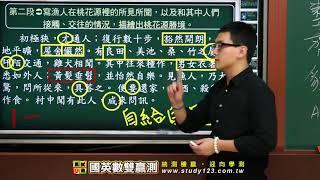 雙贏測-國文科-精選古文-桃花源記