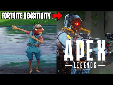 Fortnite Sensitivity TO Apex Legends - How to Convert