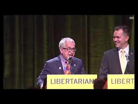 Marc Allan Feldman EPIC Closing Statement At Libertarian Party Debate I