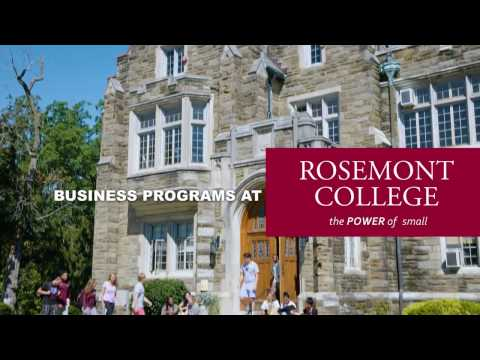 Business at Rosemont College