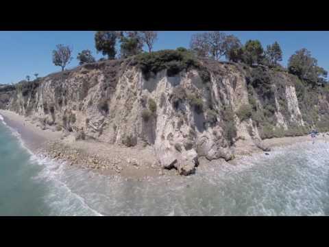 PARADISE COVE, MALIBU - DRONE FOOTAGE