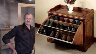 как сделать тумбочку для обуви своими руками