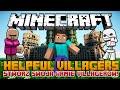 Stwórz Armie Villagerów - Żołnierze, Farmerzy, Górnicy! - Minecraft Mody - Helpful Villagers Mod