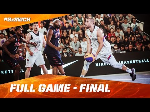 Serbia vs USA - Full Game - Final - 2016 FIBA 3x3 World Championships