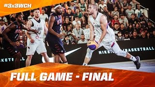 vuclip Serbia vs USA - Full Game - Final - 2016 FIBA 3x3 World Championships