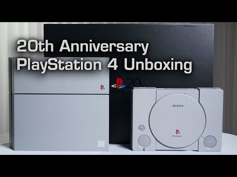 20th Anniversary PS4 Unboxing