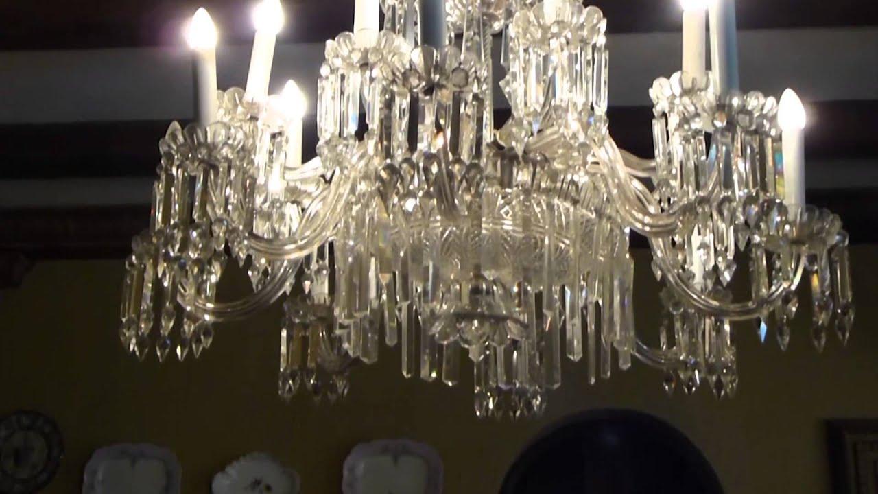 5846 lampara colgante antigua raw objetos de una casa - Lamparas de cristal antiguas ...