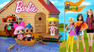 Barbie LOL Family Camp Adventures with Baby Goldie & Punk Boy  Full Movie