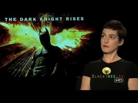 The Dark Knight Rises Interview | Anne Hatheway talks about becoming Catwoman