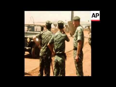 SYND 6 3 71 SOUTH VIETNAMESE MARINE REINFORCEMENTS ARRIVE AT KHE SANH BASE ON LAOTIAN BORDER