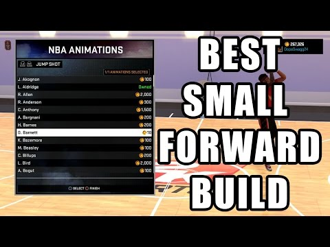 BEST SMALL FORWARD BUILD 99 OVR | ATTRIBUTE UPDATE NBA 2K16