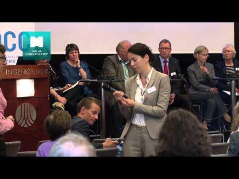 Dialog om klimatilpasning fra seminar om sårbarhet, risiko og løsninger