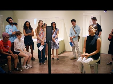 Stanford students critically respond to inspirational art