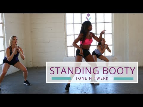 Standing Butt Workout  | Booty Twerk Workout