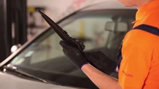 Como substituir a Escovas de limpa-vidros no OPEL CORSA C [TUTORIAL]