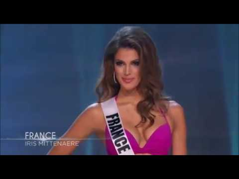 iris mittenaere miss france preliminary competition miss. Black Bedroom Furniture Sets. Home Design Ideas