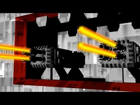 Babylon 5 Raider Battle 3D animation
