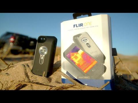 FLIR ONE AR15 Drop Test