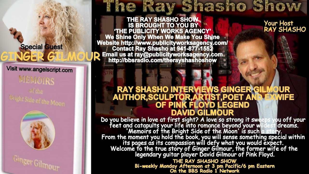 The Ray Shasho Show Welcomes Ginger Gilmour Ex Wife Of David