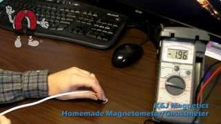 K&J Magnetics - Homemade Magnetometer