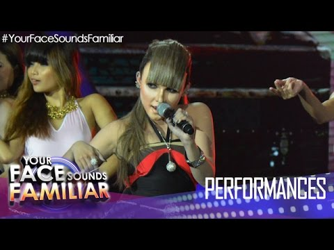 "Download Your Face Sounds Familiar: KZ Tandingan as Fergie - ""My Humps"""