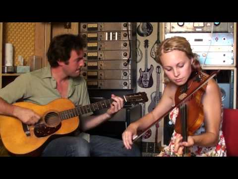 "Kelli Jones and Joel Savoy playing ""Roses in the Morning"""