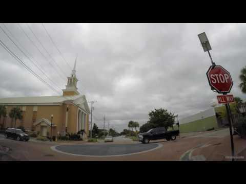 Driving Around Winter Haven Florida 4K GoPro Hero 5