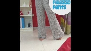 How to stitch Palazzo Pants- Full Tutorial