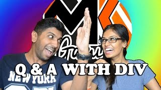 q and a with diviya